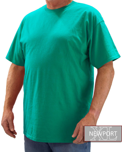 Aqua NewportXL Short Sleeve T-Shirt
