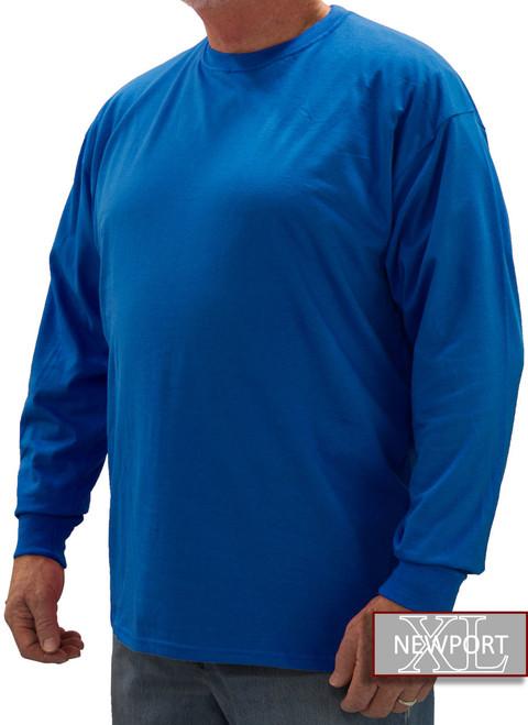 Royal Blue NewportXL LONG SLEEVE T-Shirt