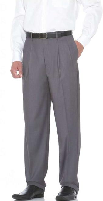 Charcoal dress pants by Savane