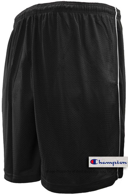 Black Champion Lightweight Mesh Shorts