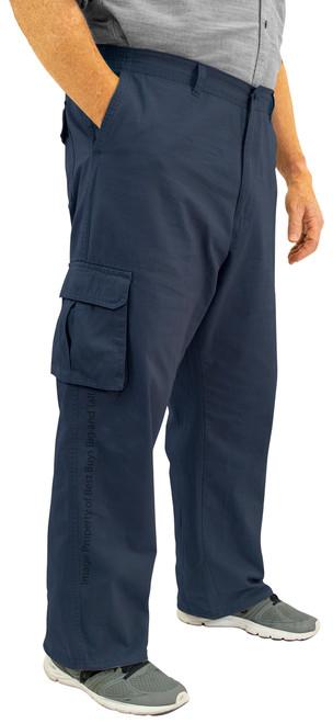 ROCXL Navy Cargo Pants