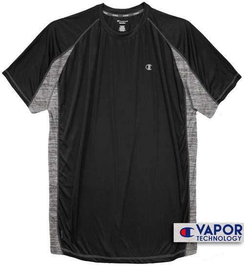 Black Champion Color Block Performance T-Shirt
