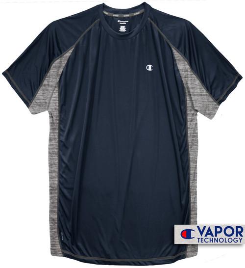 Navy Champion Color Block Performance T-Shirt