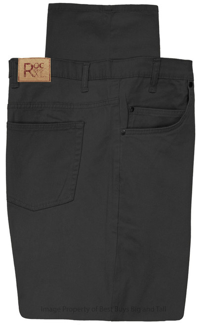 ROCXL 5-Pocket Twill Pants BLACK
