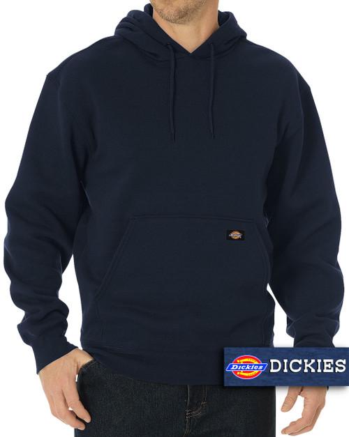 Navy Dickies Fleece Pullover Hoodie Midweight