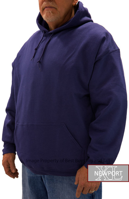 Purple pullover big and tall by NewportXL