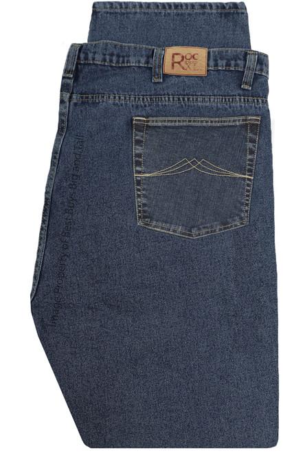 ROCXL Stretch Denim Jeans ASH BLUE