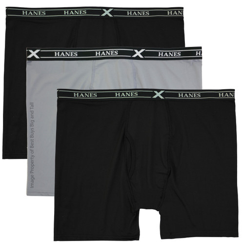 3-Pack Hanes X-Temp Air Boxer Briefs