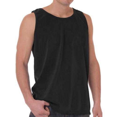Black NewportXL 100% Cotton Tank Top