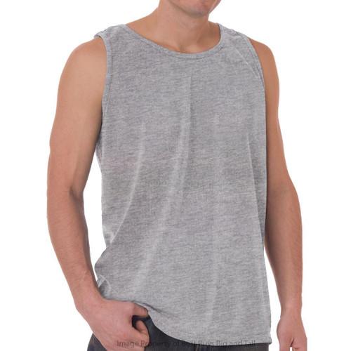 Gray NewportXL 100% Cotton Tank Top