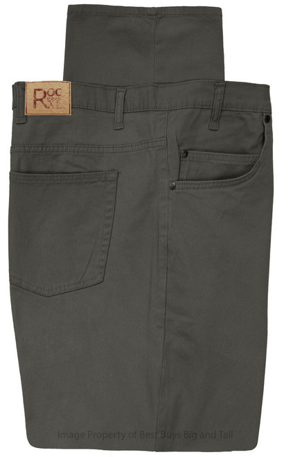 ROCXK 5-Pocket Twill Pants GRAY