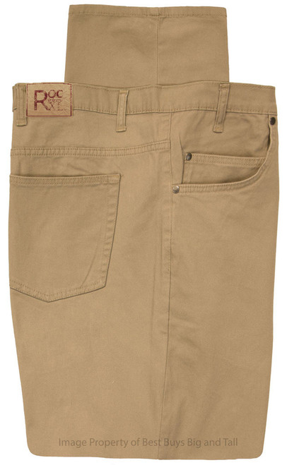 ROCXL 5-Pocket Twill Pants KHAKI