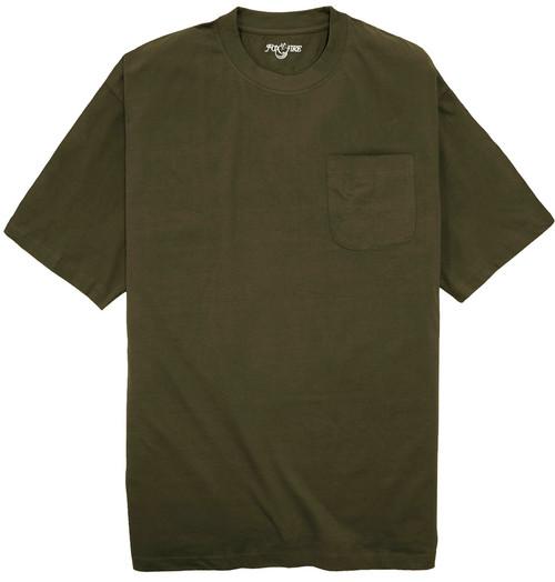 Foxfire DARK OLIVE Pocket T-Shirt