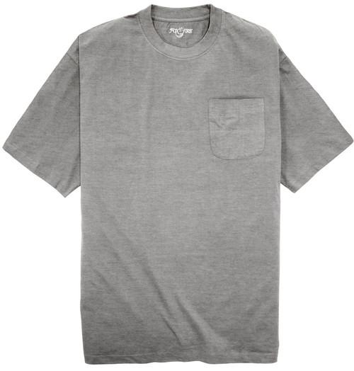 Foxfire HEATHER GRAY Pocket T-Shirt