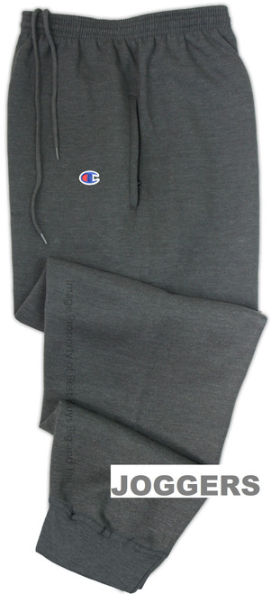 Charcoal Champion Midweight Fleece Jogger Pants