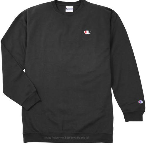 Charcoal Champion Fleece Crewneck Sweatshirt