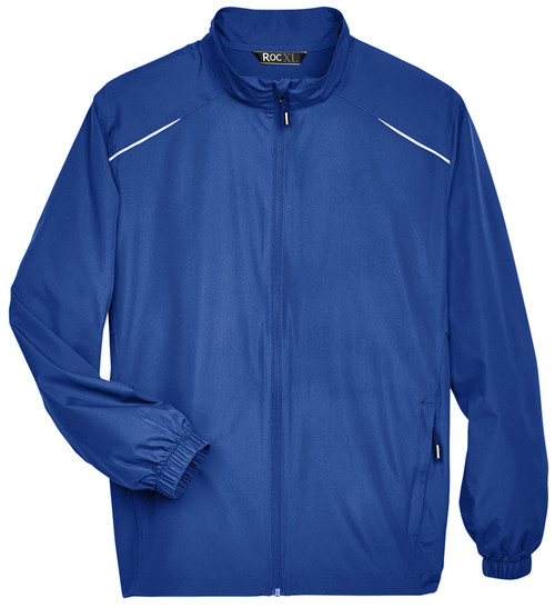 Royal Blue Lightweight Full Zip Windbreaker Jacket