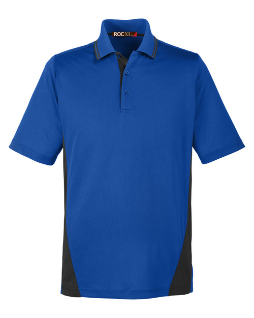 ROCXL Color Block POLO Shirt ROYAL/Black