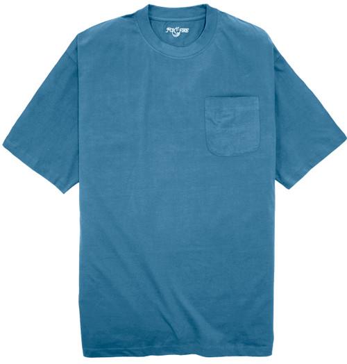 Foxfire BLUE Pocket T-Shirt
