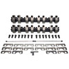 3535035 PEDESTAL-SHAFT ROCKER SYSTEM,  CHEV SB 262-400, BRODIX TRACK 1 Cyl Heads, 1.50 Int/Exh Ratio