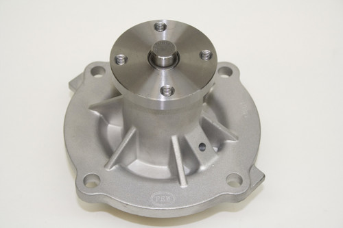 PRW Water Pump 1445403; Satin Aluminum Mechanical for Chevy 454 BBC