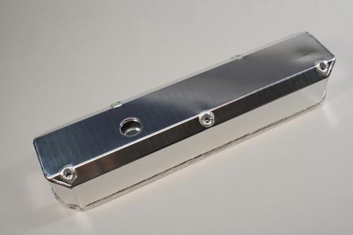 4031800 - Small Block Mopar 318-360, Satin Silver Anodized, Pair