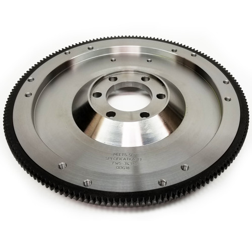 "1634380 AMC-JEEP 343-360-390, 1972-91, Drilled for Removable Counterweight, 4.50"" Crank Register, Neutral Balance, 30.5 lbs, 164 Teeth"