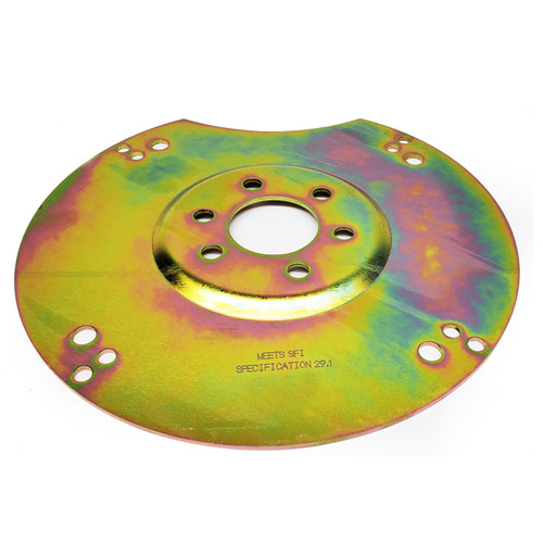 "1844001 FLEXPLATE, CHROMOLY, SFI, MOPAR 383, 400, 440 1971-79, TF-727 10"" or 11.125"" Converter, 6 bolt crank, Ext Bal"