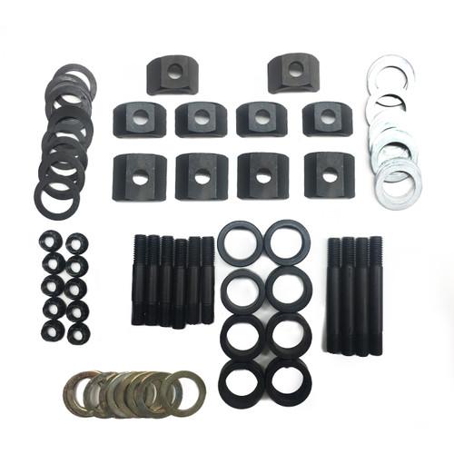 """9544005 HOLD DOWN KIT, SHAFT ROCKER SYS, MOPAR 383-440, Steel HD, 3/8"""", Complete Kit"""