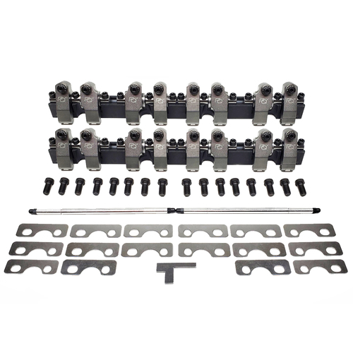 3535031 PEDESTAL-SHAFT ROCKER SYSTEM,  CHEV SB 262-400, AFR 190-195-210 Cyl Heads, 1.50 Int/Exh Ratio