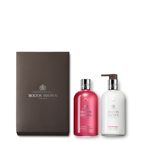 Fiery Pink Pepper Shower Gel & Lotion Gift Set