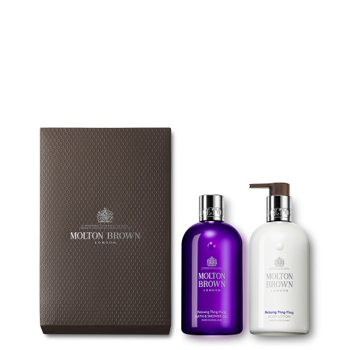 Relaxing Ylang-Ylang Shower Gel & Lotion Gift Set