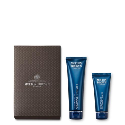 Men's Shave & Recovery Gift Set per Pelle Secca