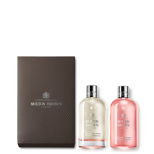 Delicious Rhubarb & Rose Bathing Experience Set
