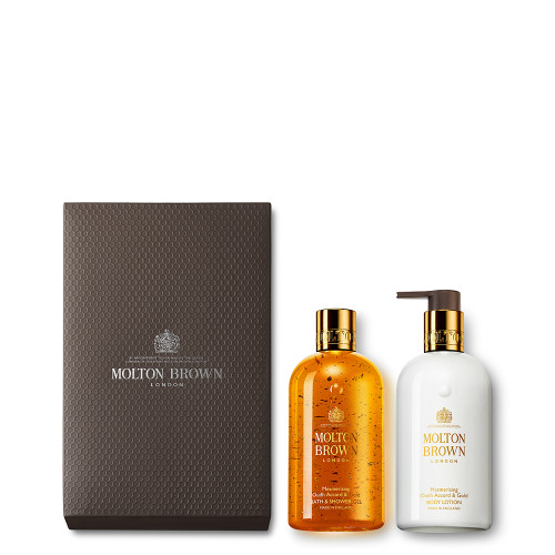 Mesmerising Oudh Accord & Gold Shower Gel & Lotion Gift Set