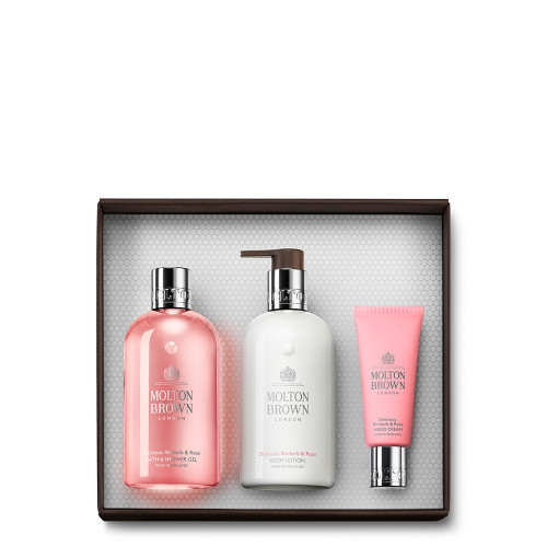 Delicious Rhubarb & Rose Pamper Gift Set