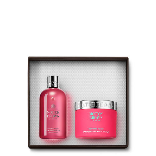 Fiery Pink Pepper Enriching Body Gift Set