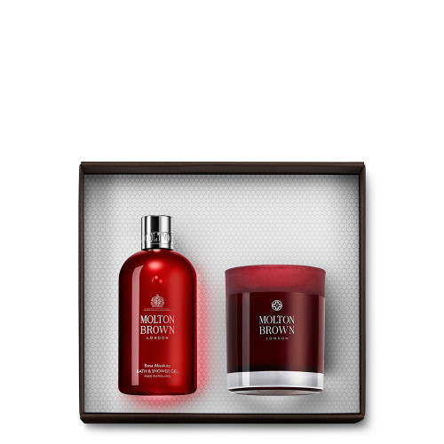 Rosa Absolute Bath & Candle Gift Set