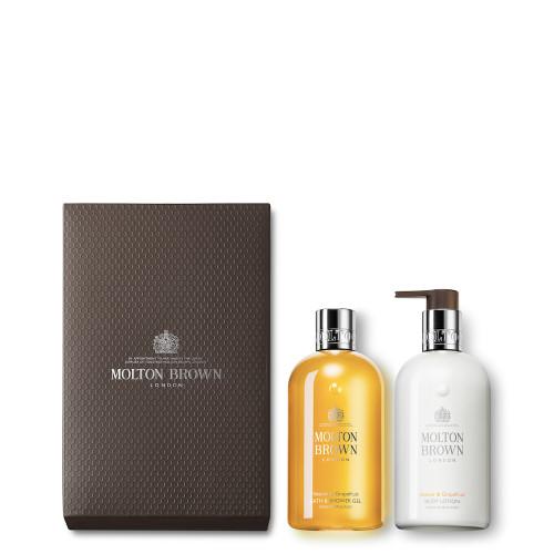 Vetiver & Grapefruit Shower Gel & Lotion Set