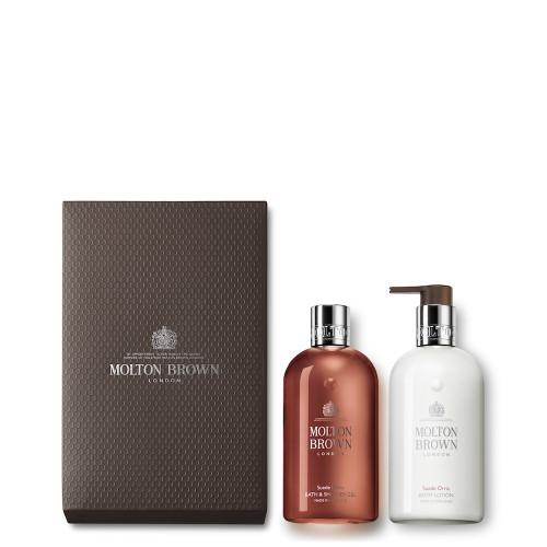 Suede Orris Shower Gel & Lotion Gift Set