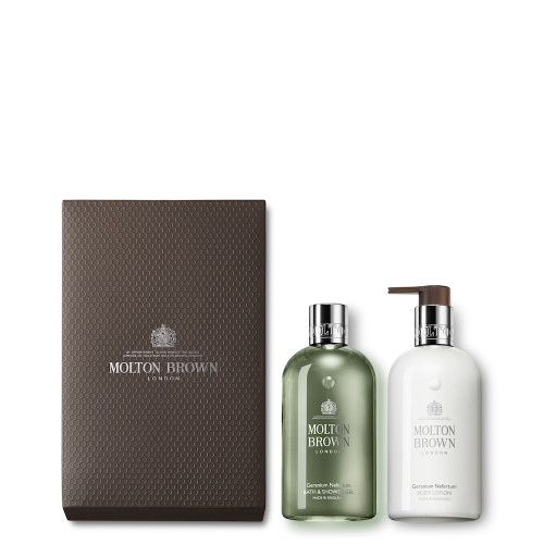 Geranium Nefertum Shower Gel & Lotion Set