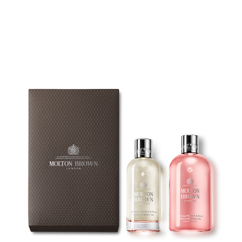 Delicious Rhubarb & Rose Body Luxuries Set
