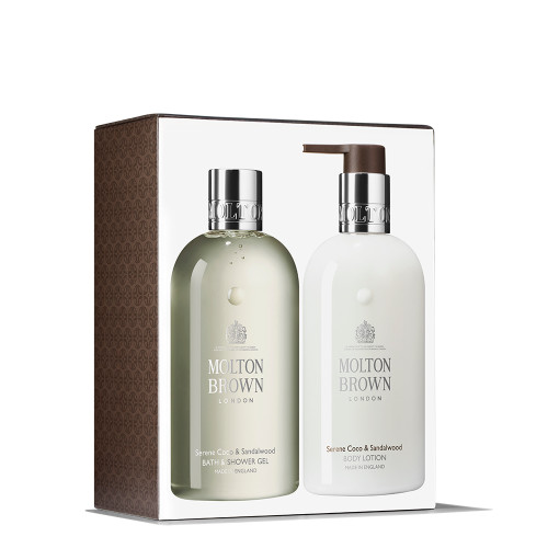 Coco & Sandalwood Body Wash & Lotion Gift Set