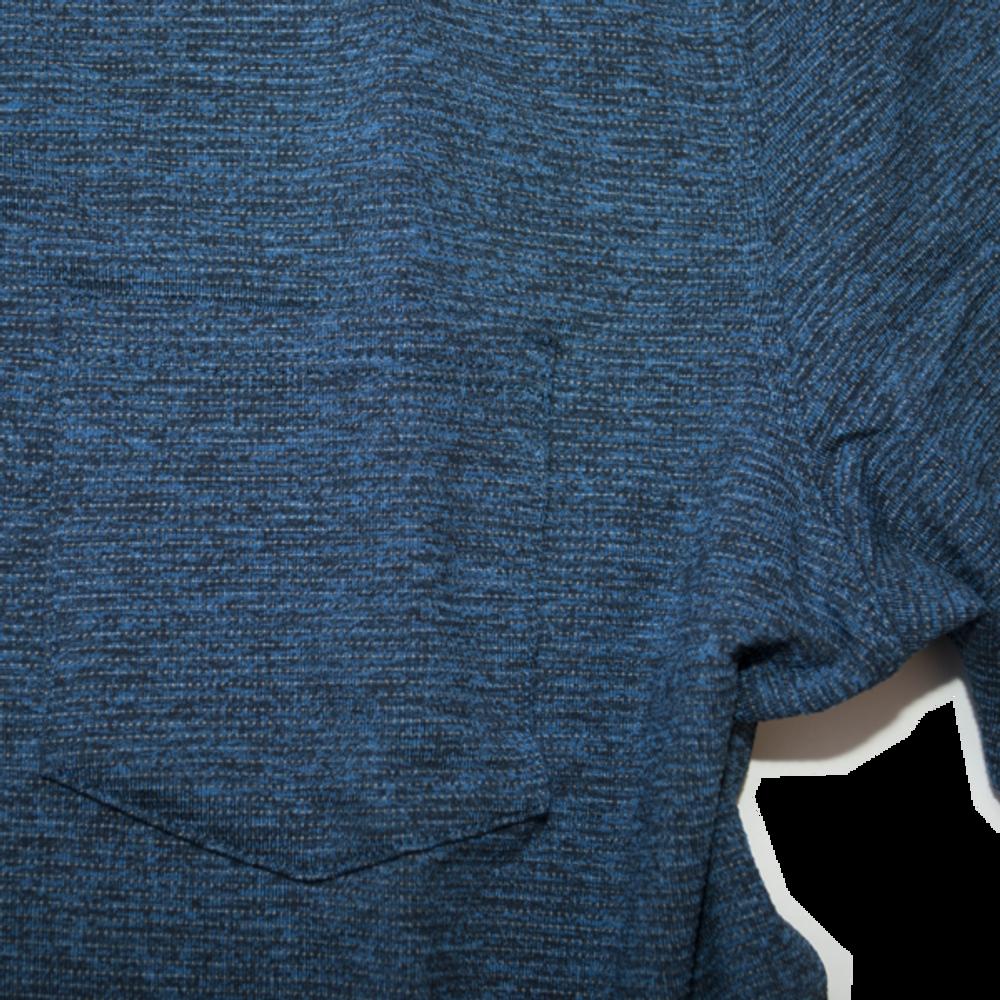 Flatiron Crew Neck - Cold Steel Blue