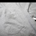 Flatiron Crew Neck - Heathered Dove Grey