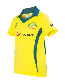 Cricket Australia 2017-18 Womens Replica ODI Home Shirt Yellow