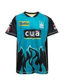 Brisbane Heat 2017-18 Kids Home Jersey Aqua/Black