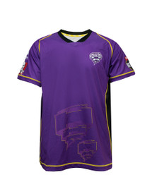 Hobart Hurricanes 2017-18 Kids Home Jersey Purple/Black