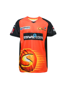 Perth Scorchers 2017-18 Kids Home Jersey Orange/Black