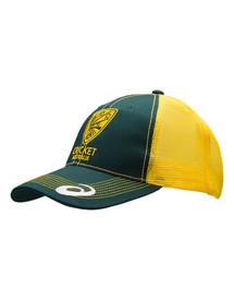 Cricket Australia 2017-18 Supporter Trucker Cap Yellow/Green